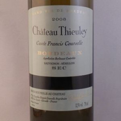 "Château Thieuley Blanc ""Cuvee Francis Courselle"" 2008"