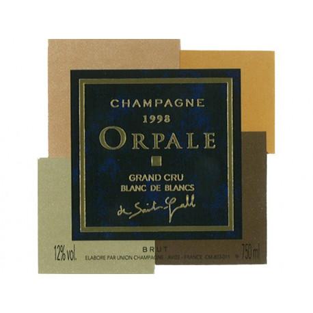 Champagne De Saint Gall - Grand Cru Orpale 1998