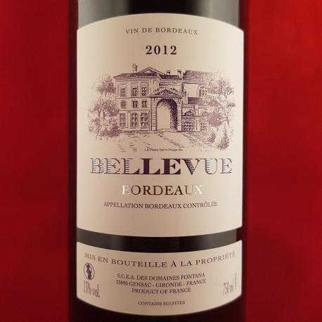 Bellevue 2012 rouge