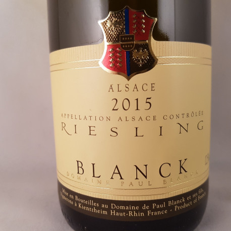 Domaine Paul Blanck - Riesling 2015