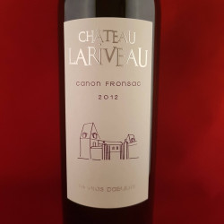 Château Lariveau rouge 2012