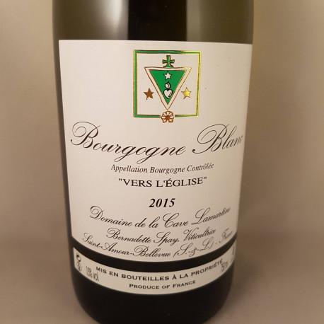 """Bourgogne Blanc """"Vers L'Église"""" 2015"""