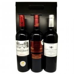Coffret cadeau : Les Bordeaux millésime 2015