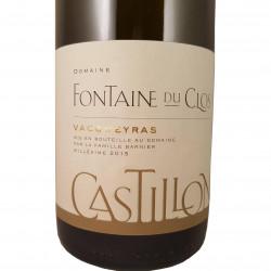 Castillon Vacqueyras blanc 2015 - Fontaine du Clos