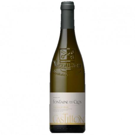 Castillon Vacqueyras blanc  - Fontaine du Clos 2015