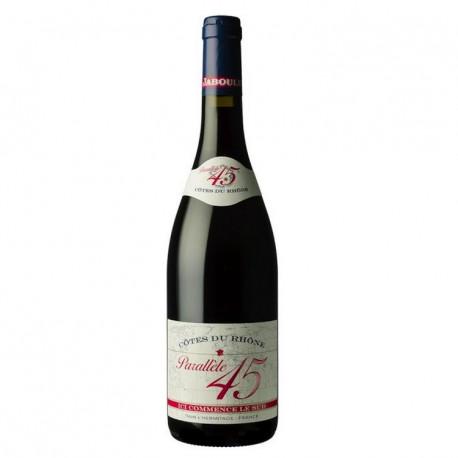 """Jaboulet """"Parallèle 45"""" rouge  2014"""