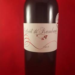 Extrait de Rambaud 2015 rouge - Vignobles Mouty