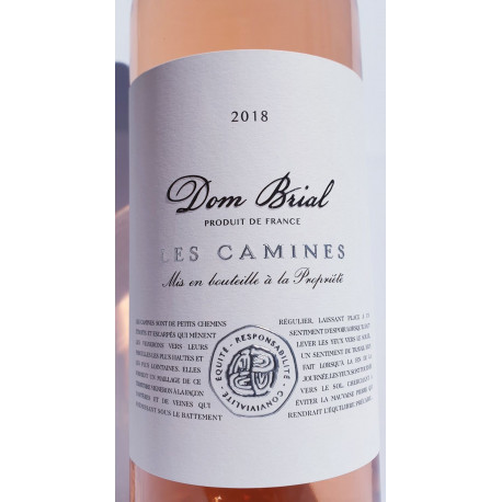 Dom Brial - Rosé Les Camines 2018