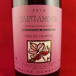 """Domaine Hamet-Spay - Saint-Amour """"Clos du Chapitre"""" 2017"""