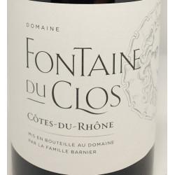 Côte du rhône - Fontaine du Clos 2017
