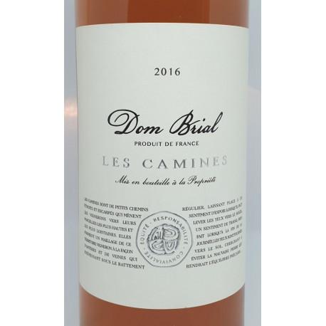 Dom Brial - Les Camines  rosé 2016
