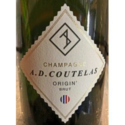 Champagne A.D COUTELAS - ORIGIN BRUT